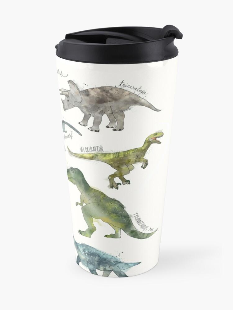Alternate view of Dinosaurs Travel Mug