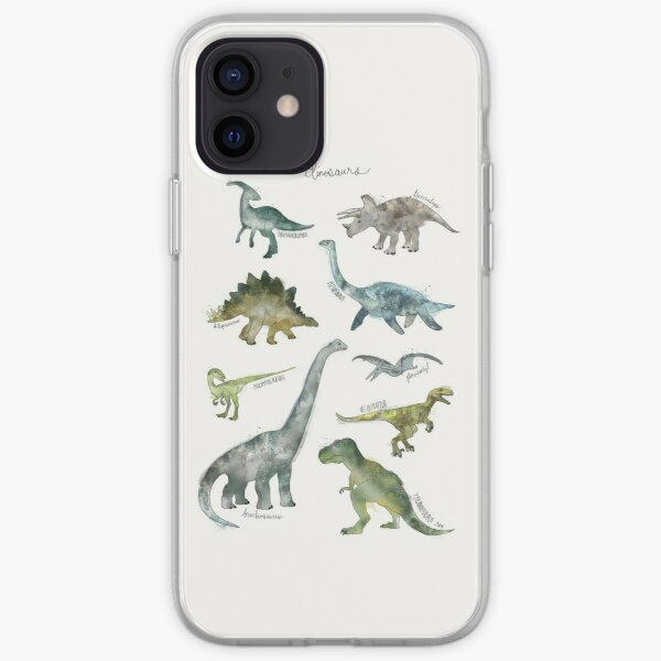Dinosaures Coque souple iPhone