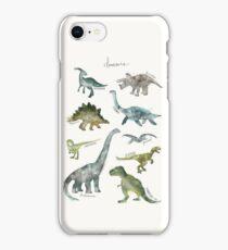 Dinosaurs iPhone Case/Skin