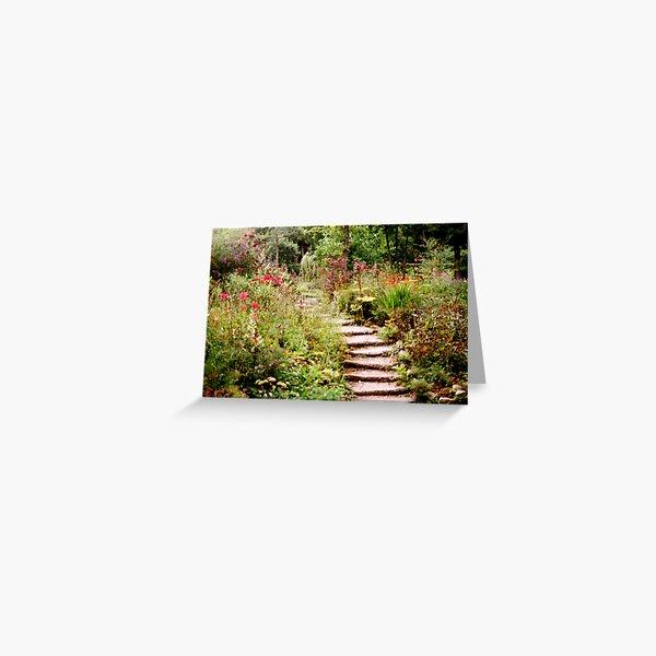 Romantic Garden 1 Greeting Card