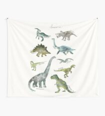 Dinosaurs Wall Tapestry