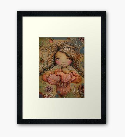 The Heart Garden of Summer Ivy Framed Print