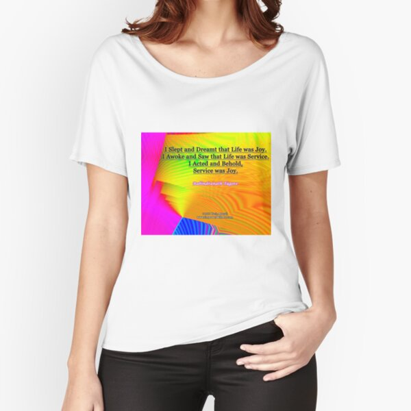 I Slept and Dreamt Relaxed Fit T-Shirt