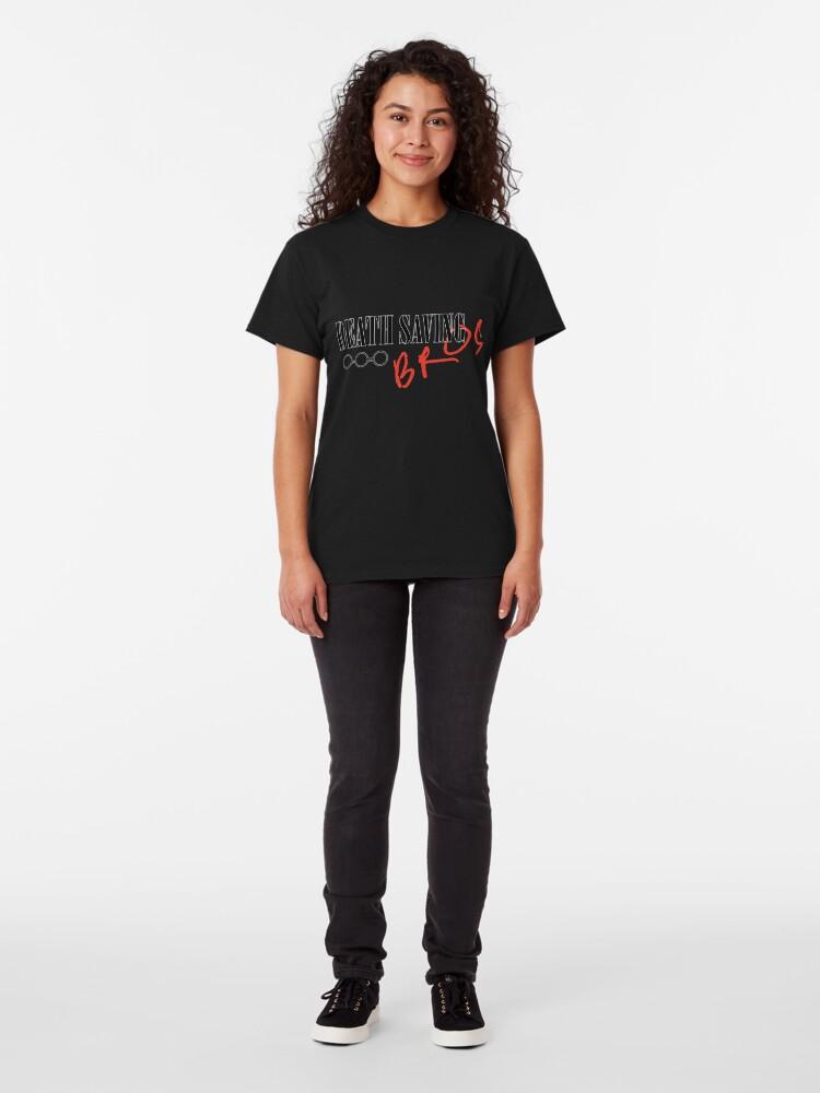 Alternate view of Death Saving Bros Classic T-Shirt