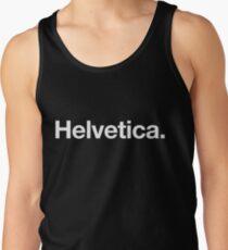 Helvetica Tank Top