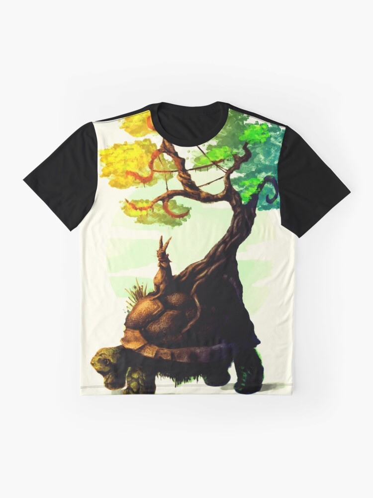 Alternate view of Tortoise and the Hare Graphic T-Shirt