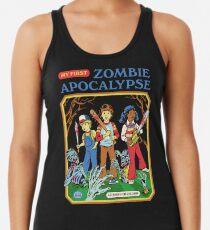 Camiseta con espalda nadadora Mi primer apocalipsis zombie
