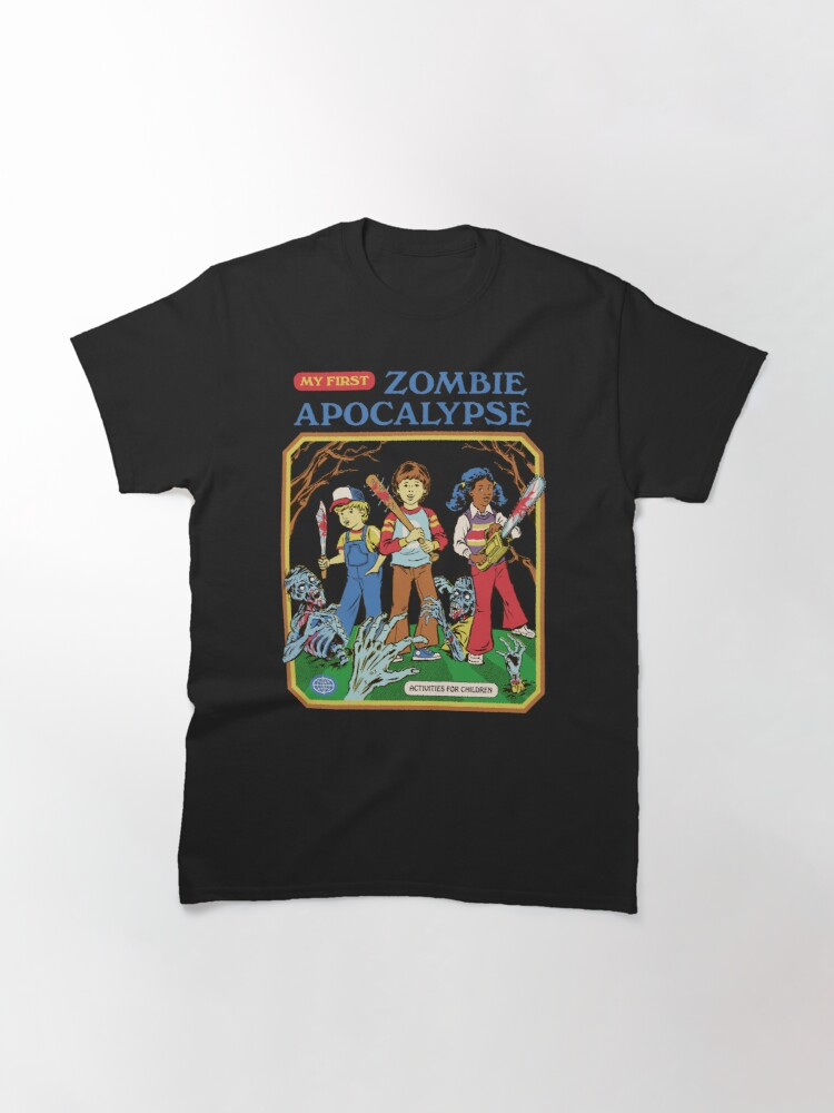 Alternate view of My First Zombie Apocalypse Classic T-Shirt