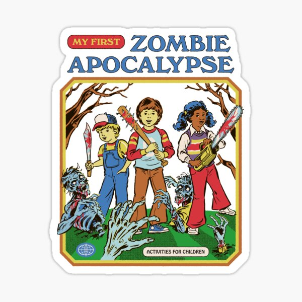 My First Zombie Apocalypse Sticker