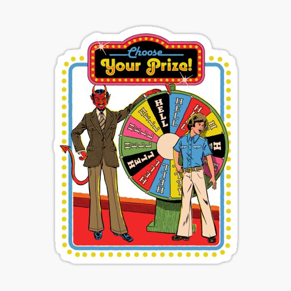 Choose Your Prize Sticker