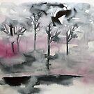 rosa Nebel von Marianna Tankelevich