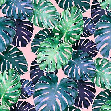 Monstera leaves by CatyArte