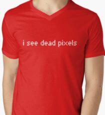 I see dead pixels Men's V-Neck T-Shirt