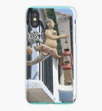 Mermaid Wall Sconce iPhone Case/Skin
