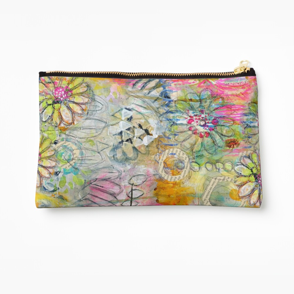 In the Garden Zipper Pouch