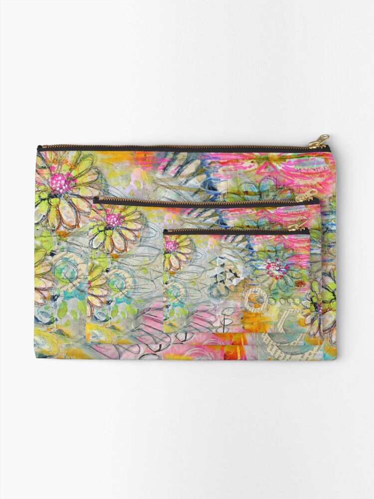 Alternate view of In the Garden Zipper Pouch