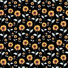 Sunflower Pattern by Negin Mf