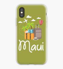 Maui Hawaii Reise Tour Hawaiian Surf Tourist Maui iPhone-Hülle & Cover