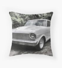 1963 Chevy Nova II Throw Pillow