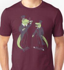 Tea Rex and Velo Sir Raptor Unisex T-Shirt