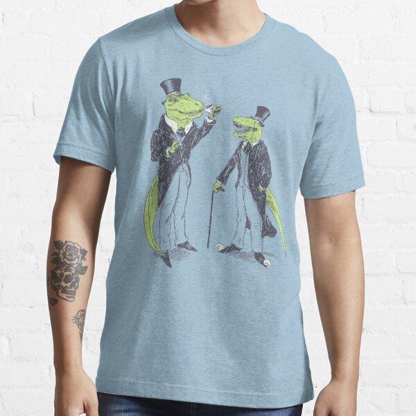 Tea Rex and Velo Sir Raptor Essential T-Shirt