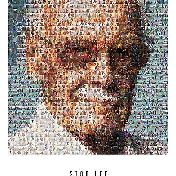Stan Lee Zitat Poster von SITM