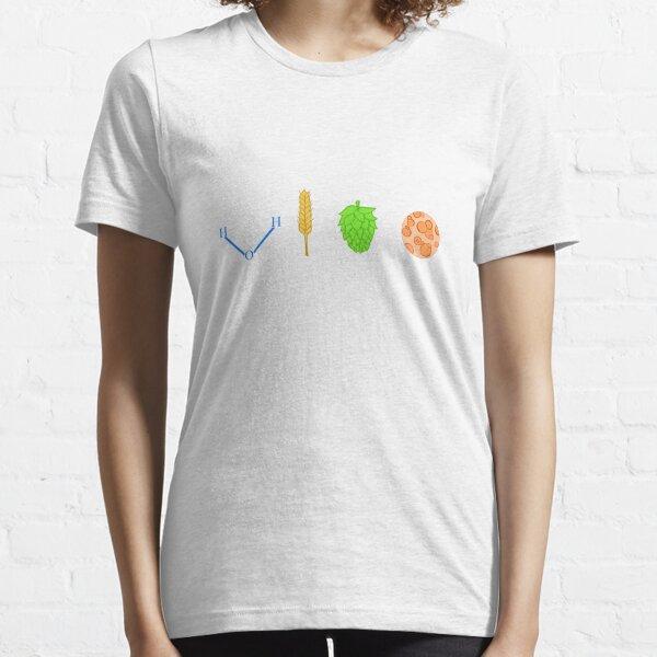 Water, Barley, Hops, Yeast Essential T-Shirt