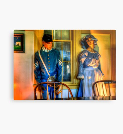 All this history - frozen in time. Metal Print