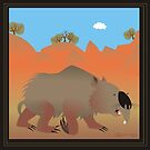 Diprotodon by Leigh Canny