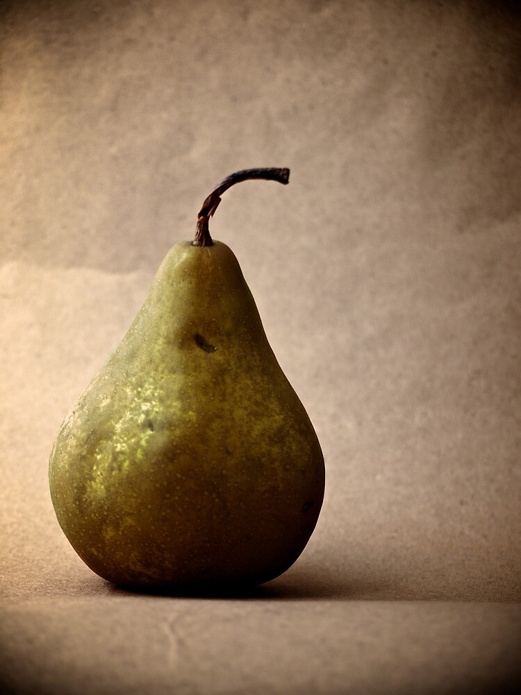 Pear on Paper by goodieg