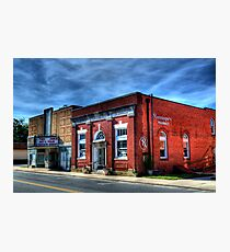 Small Town Living Photographic Print