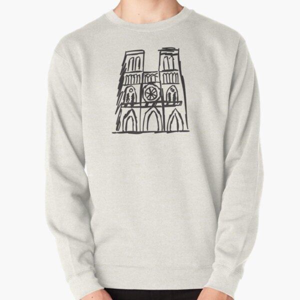 Notre Dame, I Love Notre Dame, Pray For Notre Dame, Paris, Notre Dame Fire Pullover Sweatshirt