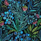 Australische Pflanzen und Blumen von Anna Alekseeva