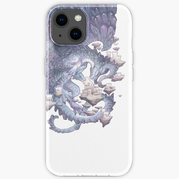 pearl gray iPhone Soft Case