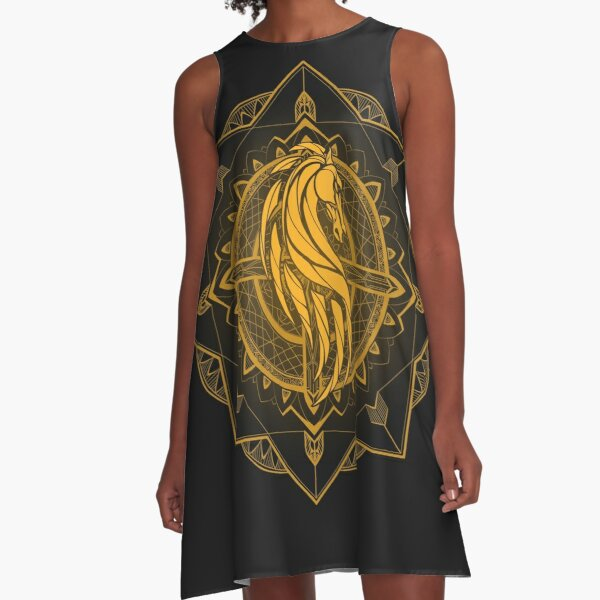 Rider of Rohan A-Line Dress