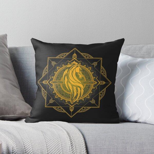 Rider of Rohan Throw Pillow