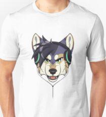 Headphone Wolf Unisex T-Shirt