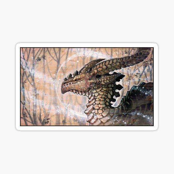 winter dragon Sticker
