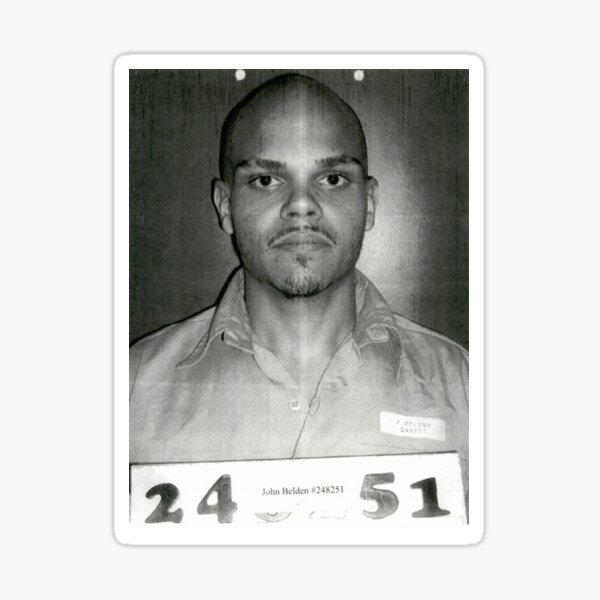 Prison Artist, John Belden  Sticker
