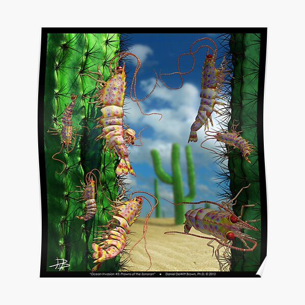 Ocean Invasion #5: Prawns of the Sonoran Poster