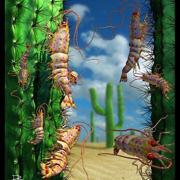 Ocean Invasion #5: Prawns of the Sonoran by LaughingMantis
