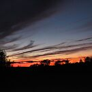 October Sunset in CT by Debbie Robbins