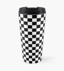 Checkerboard Travel Mug