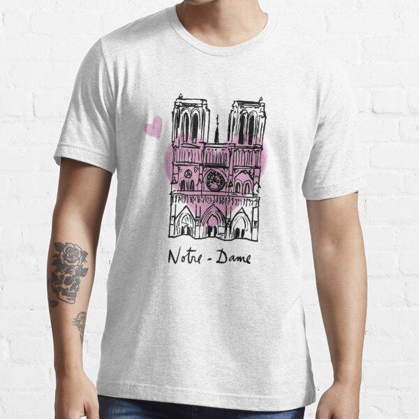 Notre Dame Paris Fire Essential T-Shirt