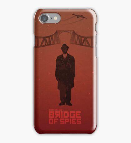 Steven Spielberg's BRIDGE OF SPIES (red version) iPhone Case/Skin