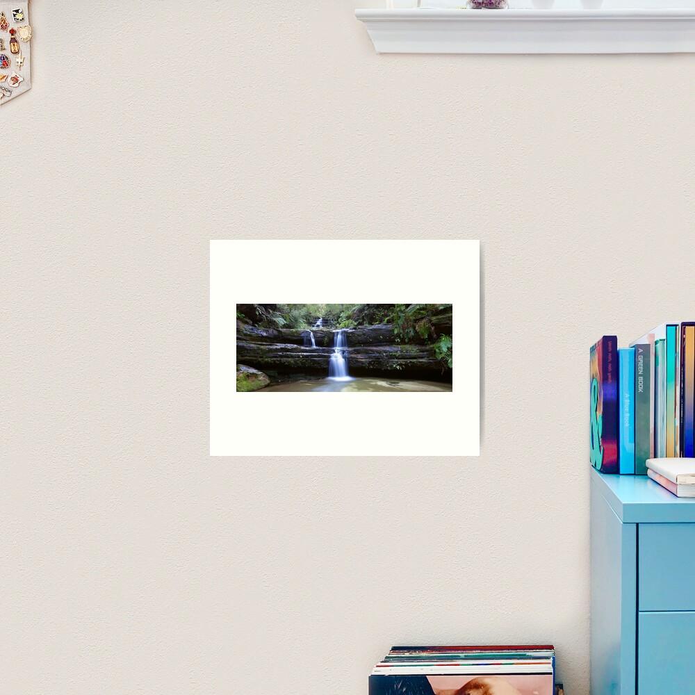 Terrance Falls, Blue Mountains, Australia Art Print