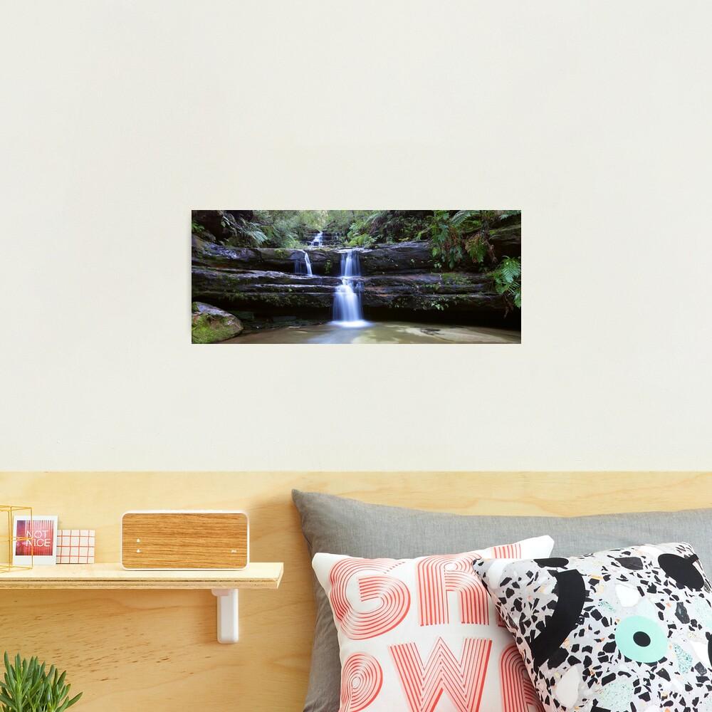 Terrance Falls, Blue Mountains, Australia Photographic Print