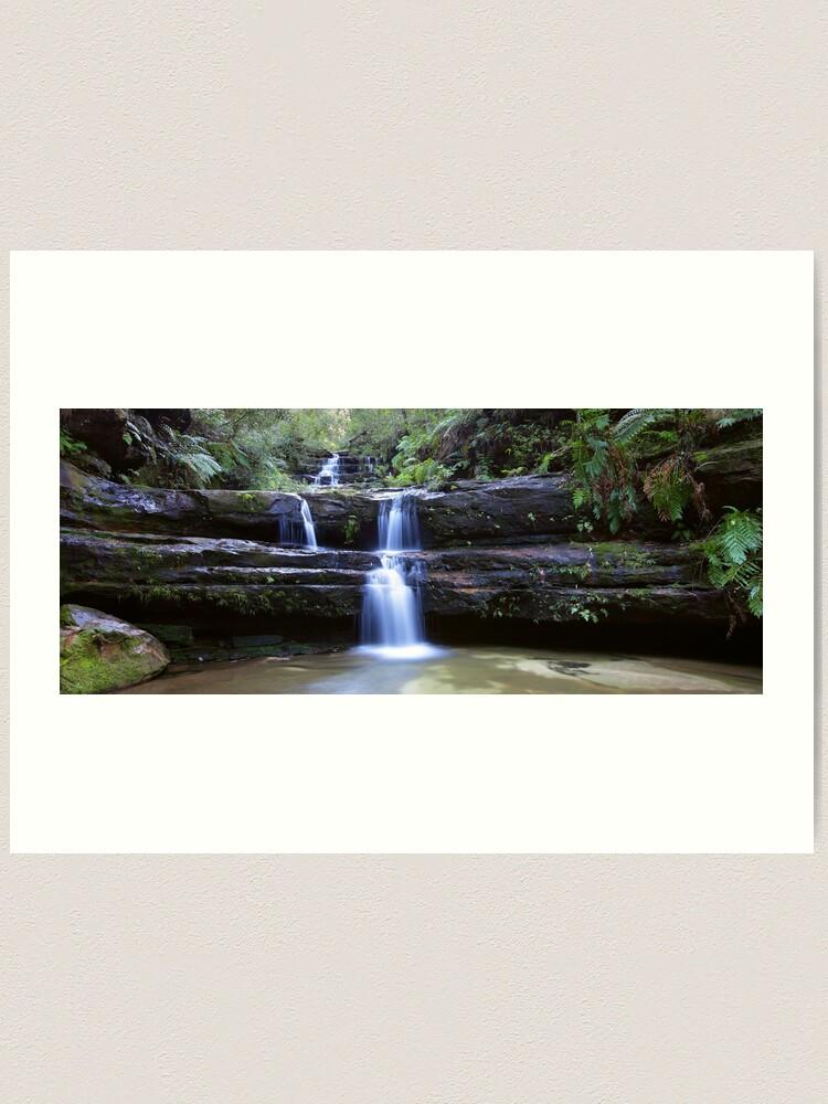 Alternate view of Terrance Falls, Blue Mountains, Australia Art Print