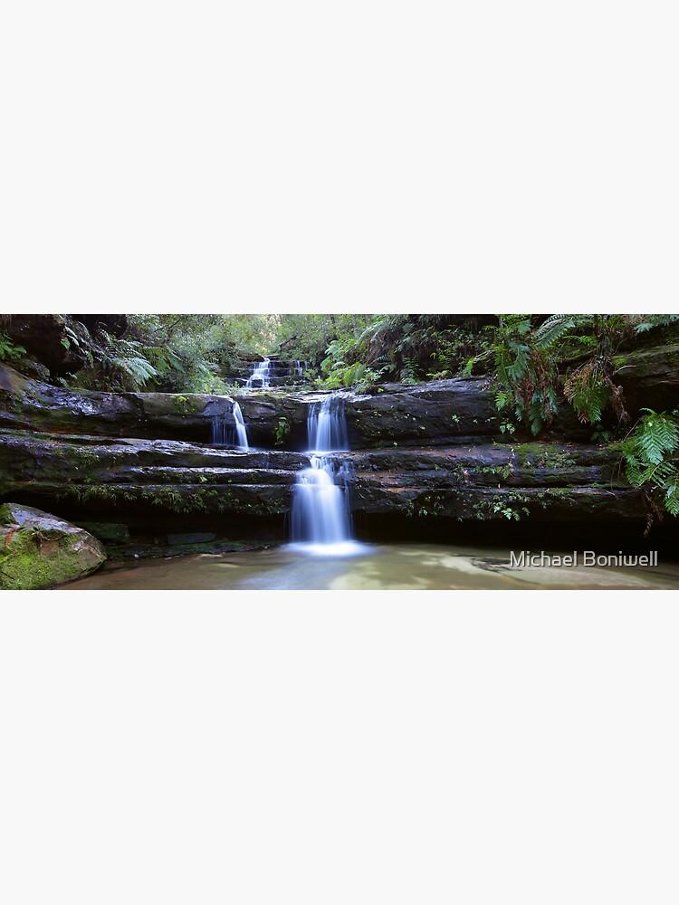 Terrance Falls, Blue Mountains, Australia by Chockstone