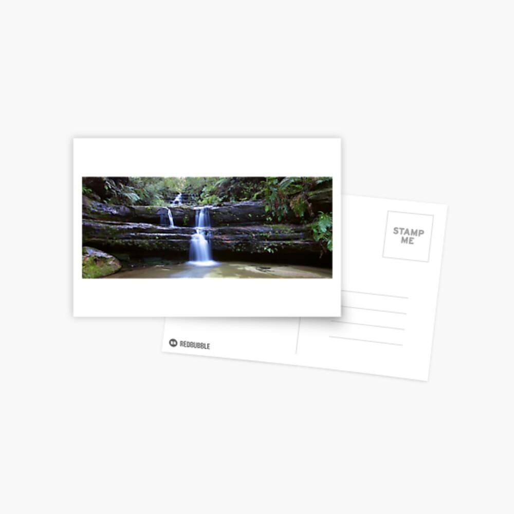 Terrance Falls, Blue Mountains, Australia Postcard
